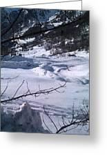 Montagna Panorama Greeting Card