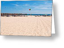 Montegordo Beach Greeting Card