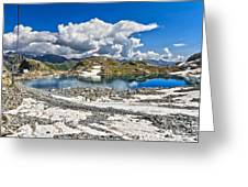 Monticello Lake - Tonale Pass Greeting Card