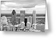 Montreal View Greeting Card