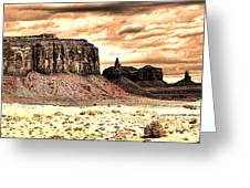 Monument Valley II Greeting Card
