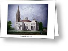 Monumental Church - 1812 Greeting Card