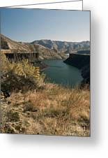 745p More's Creek Boise Id Greeting Card
