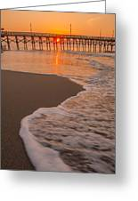 morning at  Myrtle Beach South Carolina Greeting Card