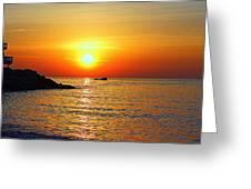 Morning Rise Greeting Card