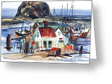 Morro Bay Greeting Card