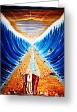 Moses. Greeting Card