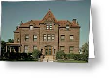 Moss Mansion - Billings Montana Greeting Card