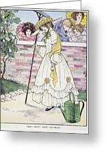 Mother Goose, 1916 Greeting Card by Granger