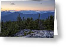 Mount Chocorua Scenic Area - Albany New Hampshire Usa Greeting Card