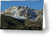 Mount Tom Greeting Card