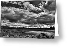 Mount Vernon Farmland - Washington State Greeting Card