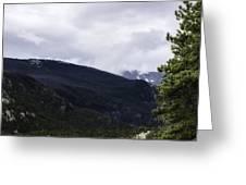 Mountain High Greeting Card