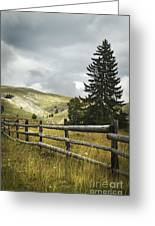Mountain Landscape Greeting Card by Jelena Jovanovic