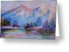 Mountain Vista 2 Greeting Card