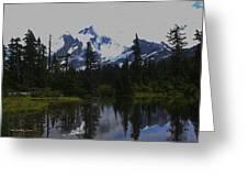 Mt Baker Washington  Greeting Card