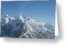 Mt Mckinley Greeting Card