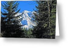Mt. Rainier I Greeting Card