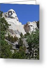 Mt. Rushmore Greeting Card