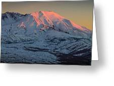 Mt. St. Helens Sunset Greeting Card
