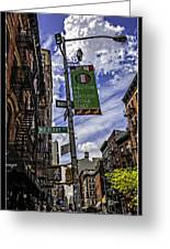 Mulberry St - Nyc Greeting Card