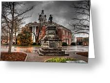 Murfreesboro Town Hall Greeting Card