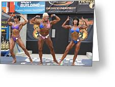 Muscle Beach In Venice Greeting Card
