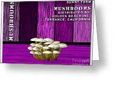 Mushroom Farm Greeting Card