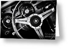 Mustang Interior  Greeting Card