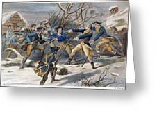 Mutiny: Anthony Wayne 1781 Greeting Card
