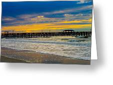 Myrtle Beach Morning Greeting Card