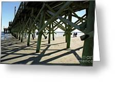 Myrtle Beach Pier Greeting Card
