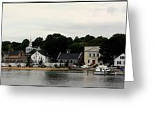 Historic Mystic Seaport Greeting Card