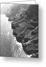 Napali Coast Of Kauai Greeting Card