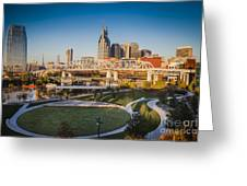 Nashville Morning Greeting Card