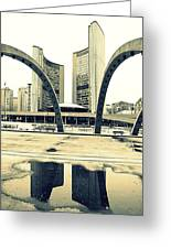 Nathan Phillips Square Greeting Card