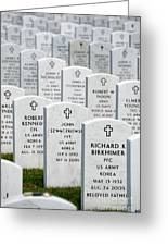 National Cemetery Of The Alleghenies Greeting Card