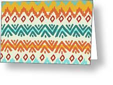Navajo Mission Round Greeting Card