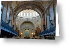 Naval Academy Chapel Greeting Card