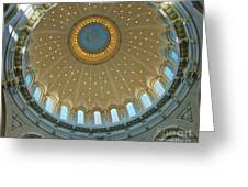 Naval Academy Chapel Side Dome Greeting Card