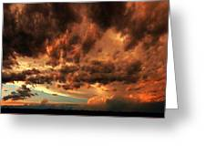 Nebraska Thunderset Greeting Card