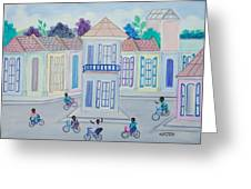 Neighborhood School Greeting Card