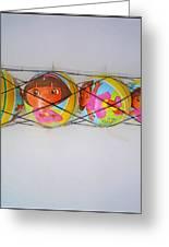 Net Balls Greeting Card
