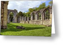 Netley Abbey Greeting Card