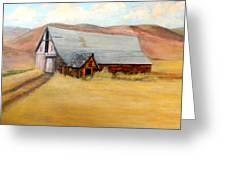 Nevada Barn Greeting Card