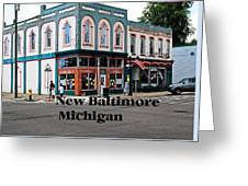 New Baltimore Michigan Greeting Card