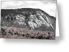New Hampshire Mountain Greeting Card
