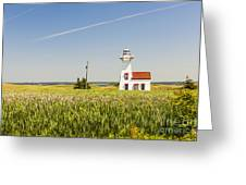 New London Range Rear Lighthouse Greeting Card