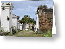 New Orleans Lafayette Cemetery Greeting Card by Christine Till