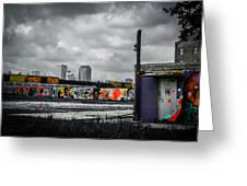 New Orleans Skyline From The Creative Part Of Town Greeting Card